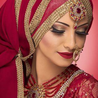Beautiful Bridal Hijab Styles 2015