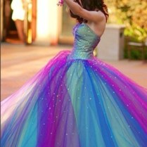 Blue And Purple Wedding Dresses On Wedding Dresses With Blue Green