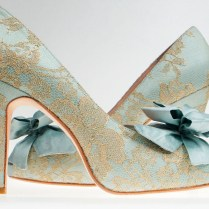 Blue Suede (wedding) Shoes!
