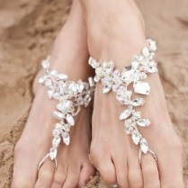 Bridal Barefoot Sandals For Your Upcoming Beach Wedding