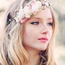 Bridal Flower Crown, Wedding Hair Accessories, Wedding Flower