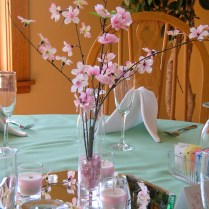 Cherry Blossom Wedding Centerpiece Ideas