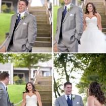 Classic Navy And Gray North Carolina Wedding