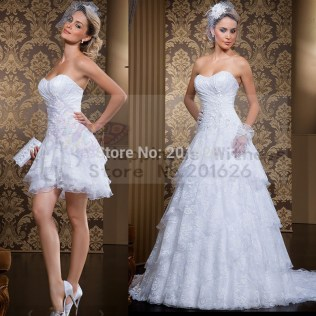 Compare Prices On Sweetheart Short Wedding Dress