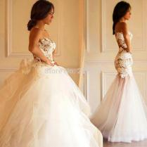 Compare Prices On Wedding Gown 2 In 1 Wedding Dress