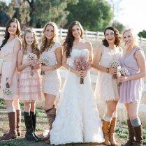 Country Wedding Bridesmaid Dresses