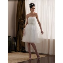 Cute Short White Wedding Dresses
