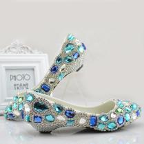 Discount Comfortable Bridal Flat Shoes