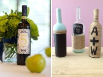 Diy Wedding Wine Bottle Decor