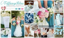 Dramatic Tiffany Blue Wedding Color Scheme
