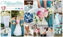 Dramatic Tiffany Blue Wedding Color Scheme