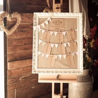 Easels, Lace Bunting And Seating Plan Wedding On Emasscraft Org