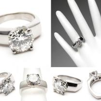 Engagement Rings Thick Band