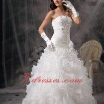 Gorgeous Strapless Wedding Dresses