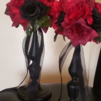 Gothic Wedding Centerpieces