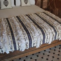 H770 Moroccan Wedding Blanket