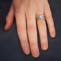 How Team Zoe Wears Their Engagement Rings