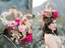 How To Create The Perfect Floral Headdress