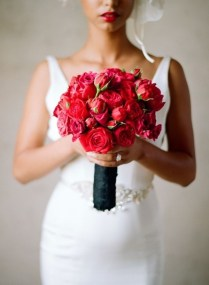 Images Of Red Wedding Bouquets