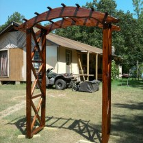 Let' Do It! Diy Wooden Arch To Decored Your Wedding