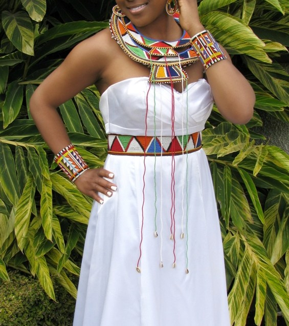 Modern African Inspired Wedding Dresses