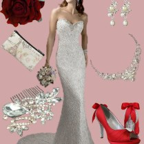 Moulin Rouge Style Inspiration – Bridal