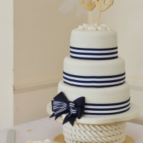Nautical Wedding Cake Topper