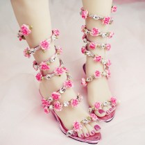 Online Get Cheap Wedding Flat Sandals