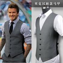 Online Shop Beckham Series Of Men's Leisure Suit Vests Wedding