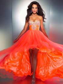 Orange Wedding Dress – Designers Outfits Collection