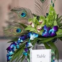 Peacock Wedding Centerpieces Ideas, Memorable Wedding Are Peacock