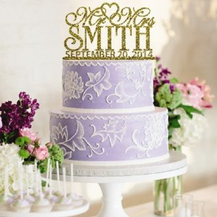 Personalized Wedding Cake On Wedding Cakes With 1000 Ideas About