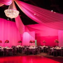Pink, Black, White And Silver Tampa Wedding At A La Carte Pavilion