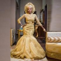 Popular Gold Wedding Dresses