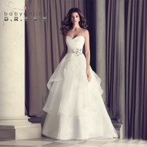 Popular Layered Wedding Dress