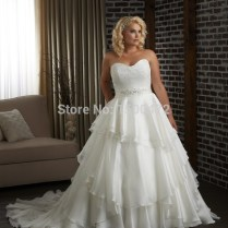 Popular Layered Wedding Dresses