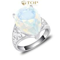 Popular Moonstone Wedding Rings