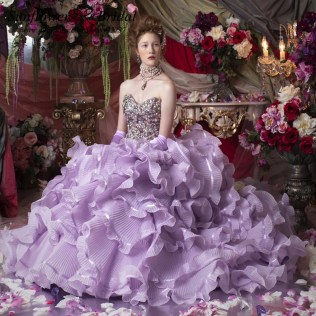 Pretty Purple Wedding Dresses