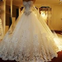 Princess Wedding Dresses With Sparkles