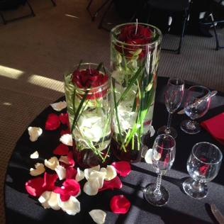 Red & Black Wedding Theme – Caterman Catering – Bay Area Catering