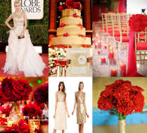 Red And Gold Wedding Inspiration