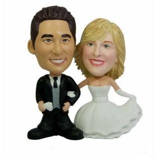 Searching For Bobblehead Wedding Cake Topper Try Custombobble Com