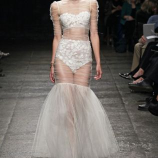 Sheer Wedding Dresses Photo Album