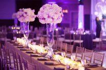 Simple Elegant Centerpieces Wedding 1 Decorations Table Lights U