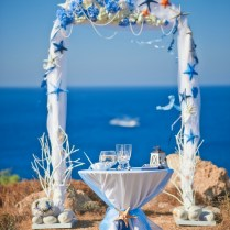 Starfish, Arches And Beach Wedding Decorations On Emasscraft Org