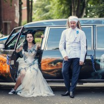Steph And Lee's Gothic Corpse Bride Wedding