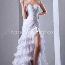 Stunning Sweetheart Dropped Hawaii Beach Wedding Dresses Front