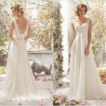Stylish Board Stunning Cowl Back Wedding Dresses For Brides