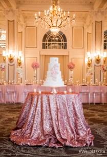 Stylish Wedding Cake Table Ideas