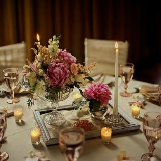 The Ideas Of Vintage Wedding Table Decorations